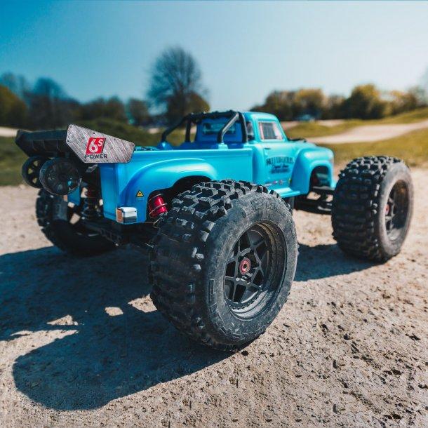 NOTORIOUS 6S BLX Classic Stunt Truck RTR ARRMA Blå