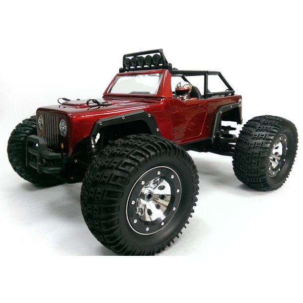 Thunder Tiger e-MTA KAISER 1:8 Brushless fjernstyret monstertruck