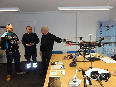 dronebevis kursus airborne consult