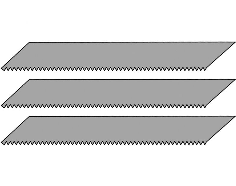 3 savklinger til designer kniv - Værktøj - Holte Modelhobby