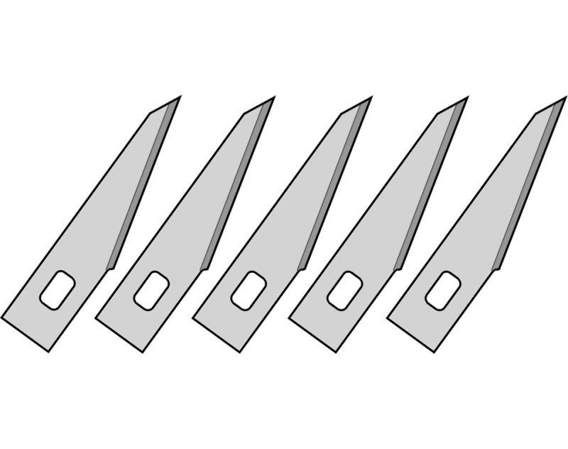 Ekstra klinger for kniv 5 stk. - Værktøj - Holte Modelhobby