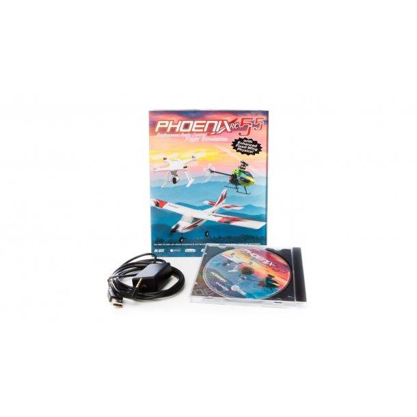 Phoenix R/C SIM V5 5 - Flysimulator - Holte Modelhobby